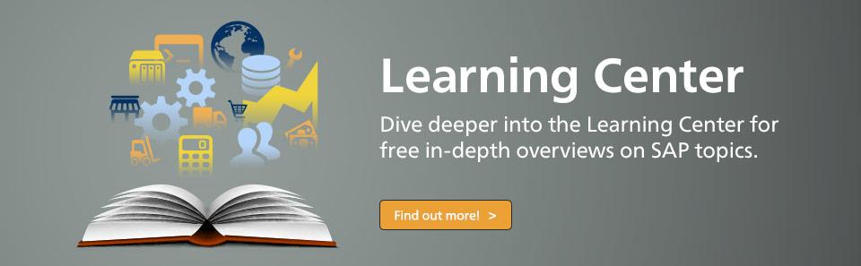 SAP PRESS Learning Center