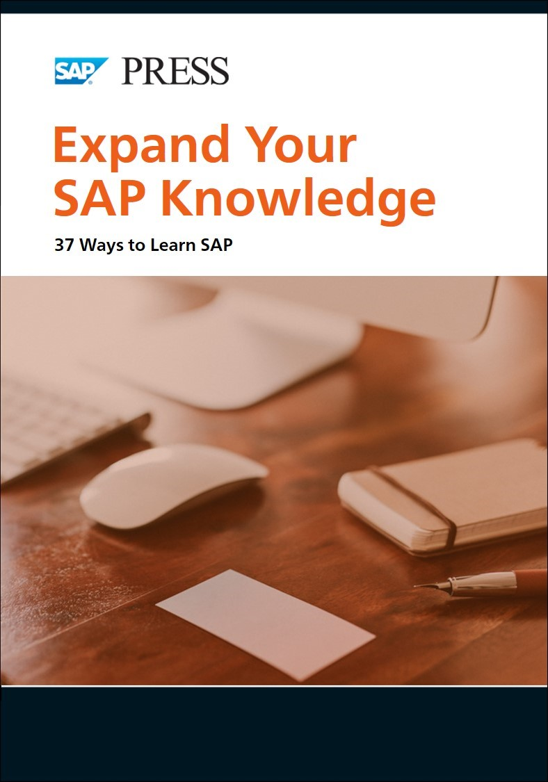 Ways to Learn SAP Cover